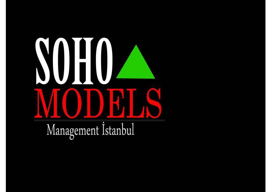 Model Ajansına Logo Tasarım yarışmasına tasarımcı derindede tarafından sunulan  tasarım