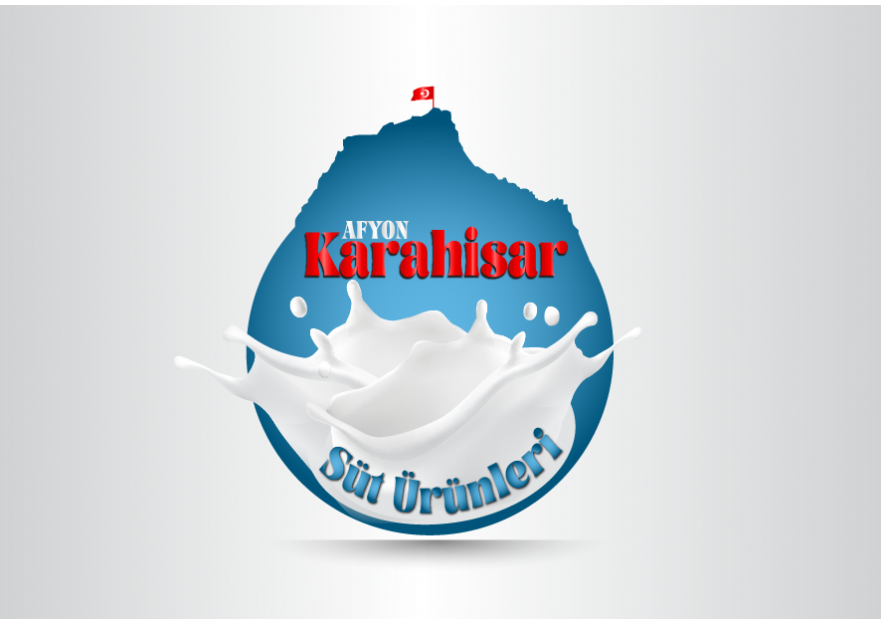 KARAHİSAR SÜT yarışmasına tasarımcı ilhan tarafından sunulan  tasarım