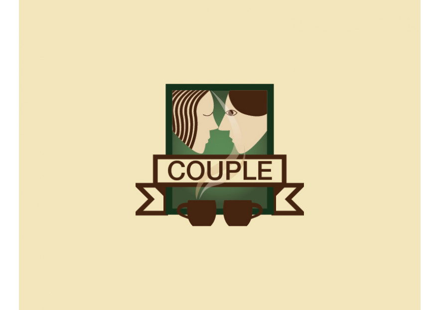 Cafe Logo tasarımı yarışmasına tuylek tarafından girilen tasarım