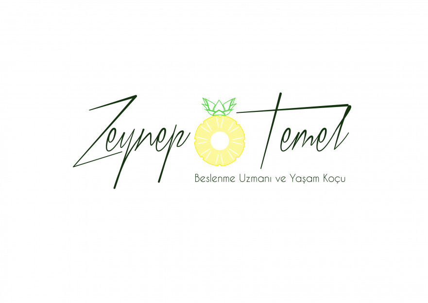Diyetisyen logo yarışmasına MERİKİ tarafından girilen tasarım