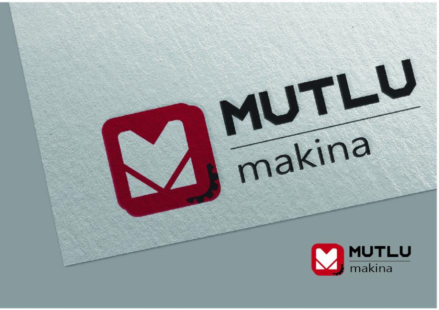 MUTLU MAKİNA'ya yeni bir logo arıyoruz. yarışmasına tasarımcı nndesign tarafından sunulan  tasarım