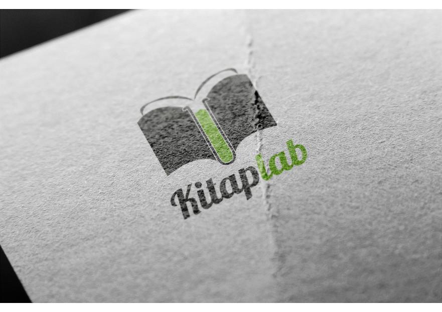 Kitaplab Logo çalışması yarışmasına Cuneight tarafından girilen tasarım