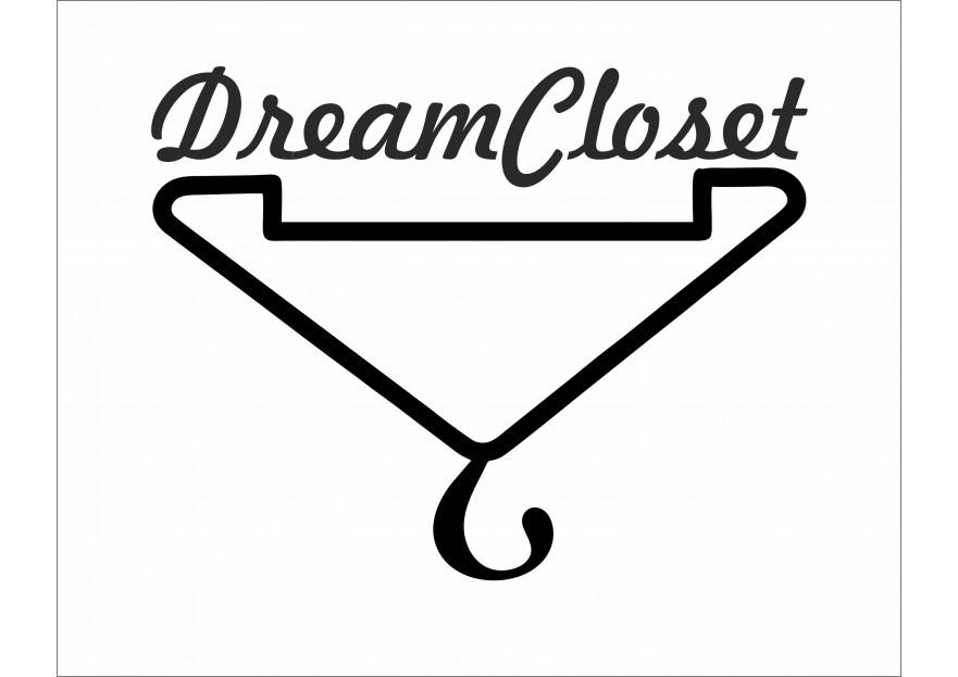 DreamCloset.net Logo yarışmasına tasarımcı semane turan tarafından sunulan  tasarım