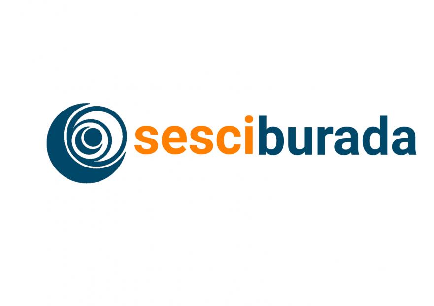 Sesciburada E-Ticaret sistemiz için logo yarışmasına tasarımcı 2N1K tarafından sunulan  tasarım