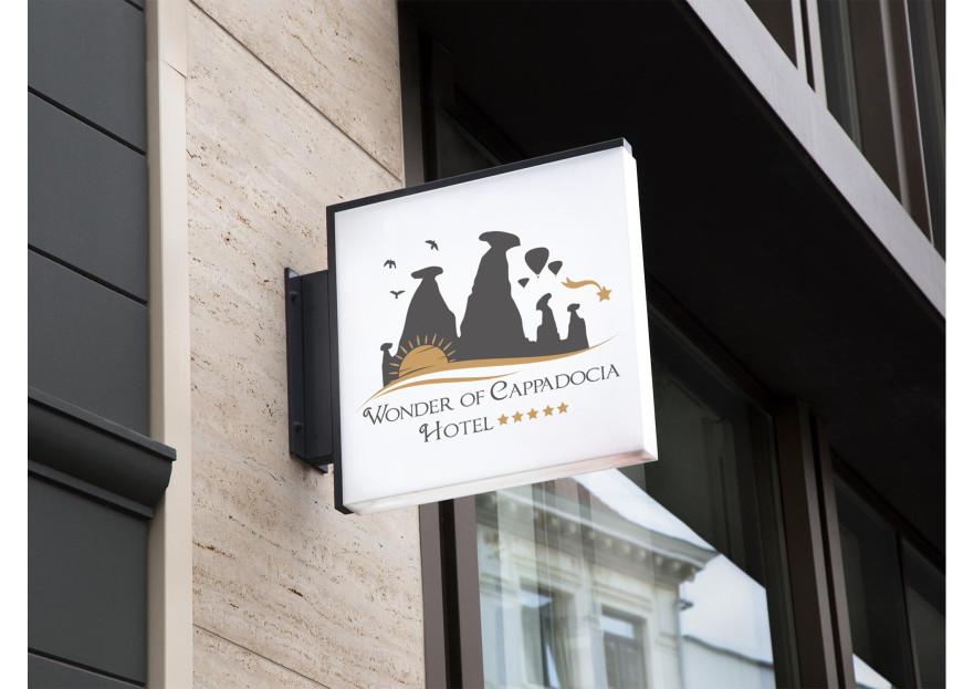 Kapadokyada Otel Logo Tasarım yarışmasına tasarımcı nesli1 tarafından sunulan  tasarım