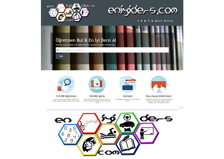 eğitim platformu için logo yarışmasına zumruduanka tarafından girilen tasarım