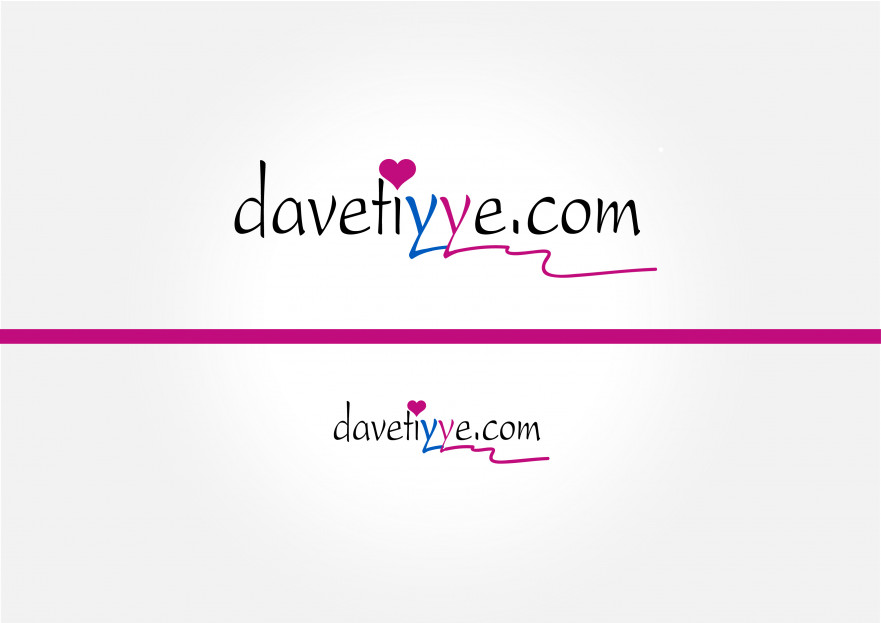 Davetiye E-Ticaret Sitesi Logo Tasarımı yarışmasına tasarımcı Owl_Owl tarafından sunulan  tasarım