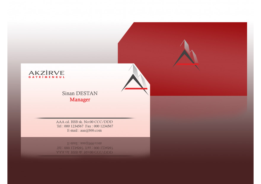 AKZİRVE  yarışmasına tasarımcı CBDesign tarafından sunulan  tasarım