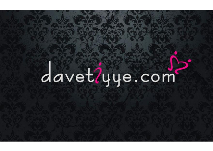 Davetiye E-Ticaret Sitesi Logo Tasarımı yarışmasına tasarımcı altun1411 tarafından sunulan  tasarım