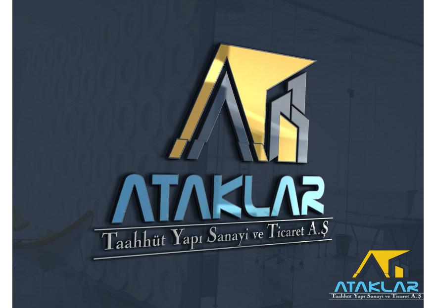 inşaat firması için logo yarışmasına tasarımcı Adnan ALTUN tarafından sunulan  tasarım