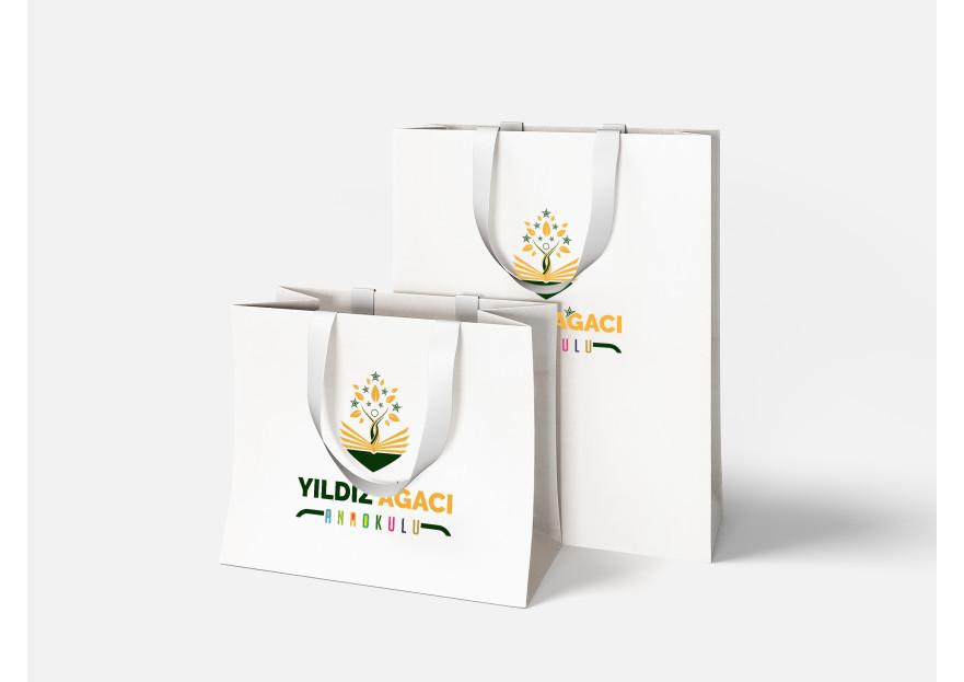 YILDIZ AĞACI ANAOKULU  LOGOSUNU ARIYOR.. yarışmasına tasarımcı tufangulsu tarafından sunulan  tasarım