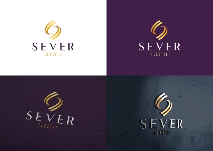 Tekstil firma logosu yarışmasına tasarımcı Hello tarafından sunulan  tasarım