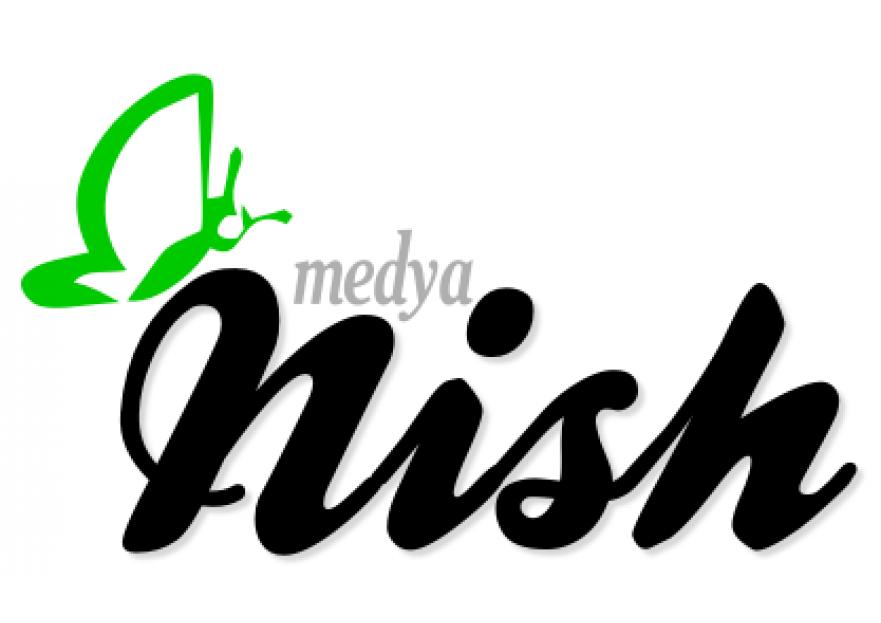 NİSH MEDYA LOGO YARIŞMASI yarışmasına tasarımcı abanoz55 tarafından sunulan  tasarım