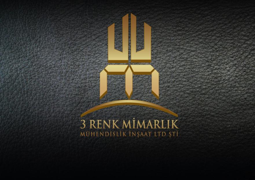 3 RENK MİMARLIK LOGO TASARIMI yarışmasına tasarımcı ANATOLIA__AJANS tarafından sunulan  tasarım