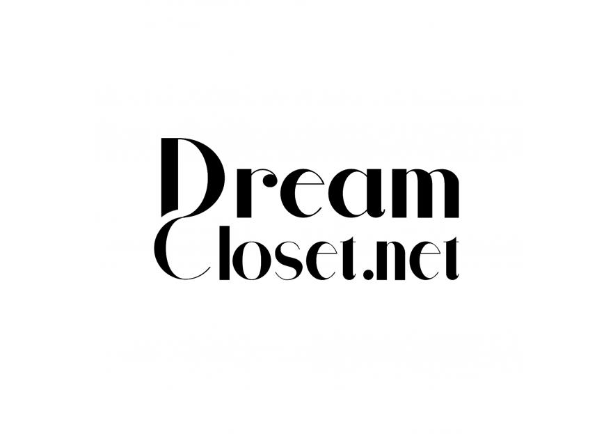 DreamCloset.net Logo yarışmasına tasarımcı lanadesign tarafından sunulan  tasarım