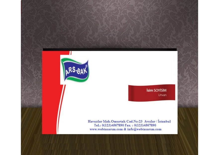 Bakliyat Firmasına kartvizit çalışması yarışmasına tasarımcı edursun tarafından sunulan  tasarım