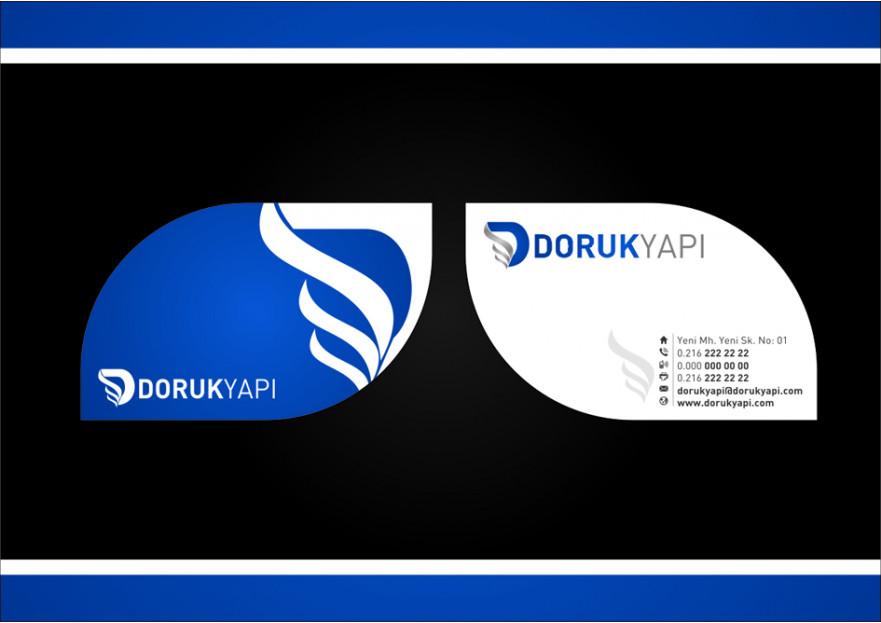 Doruk Yapı Aş. Logo, kartvizit tasarımı yarışmasına cihatsarp tarafından girilen tasarım
