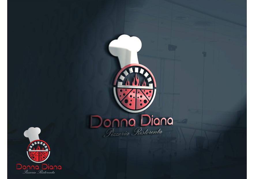 pizza restoranim icin logo tasarimi yarışmasına tasarımcı GhostSpy tarafından sunulan  tasarım