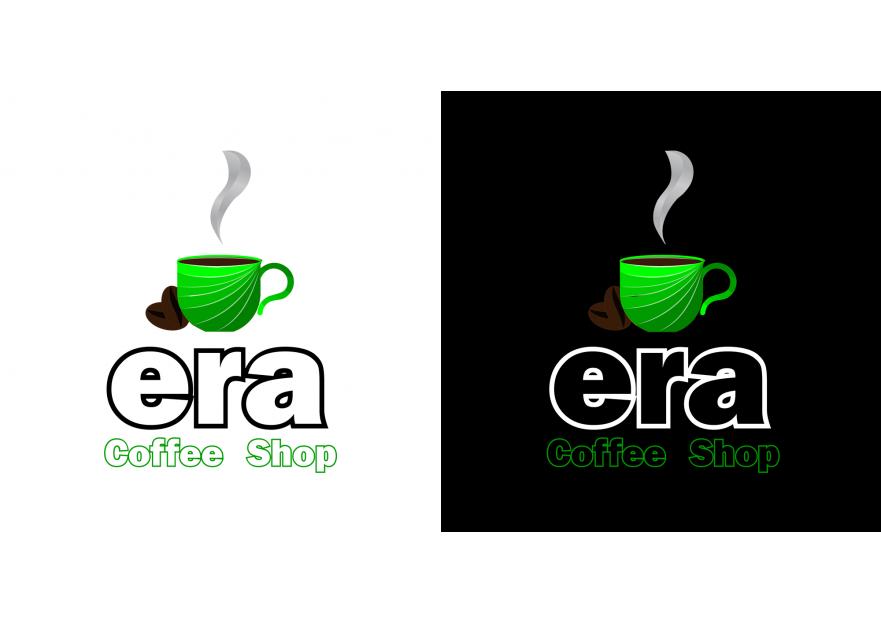 Kahve Dükkanı için Logo yarışmasına tasarımcı Thorin Meşekalkanı tarafından sunulan  tasarım