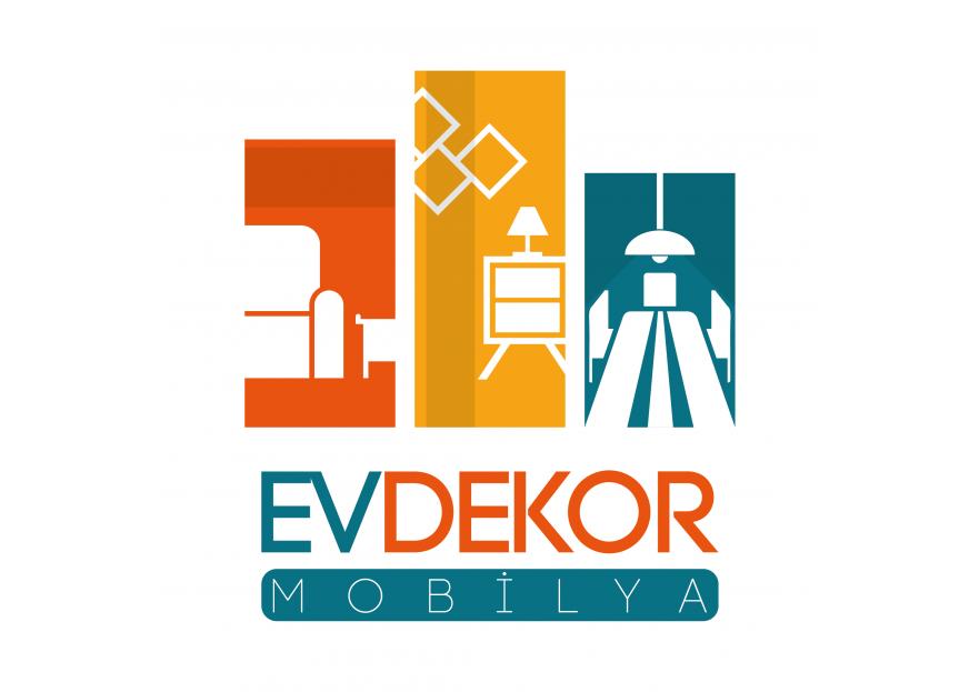 EV DEKOR MOBİLYA FİRMAMIZA YENİ LOGO  yarışmasına tasarımcı LogoEmperor tarafından sunulan  tasarım
