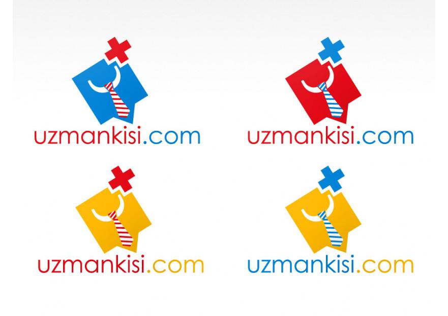 Uzman arama portalı için logo çalışması yarışmasına tasarımcı Ayes Tasarım tarafından sunulan  tasarım