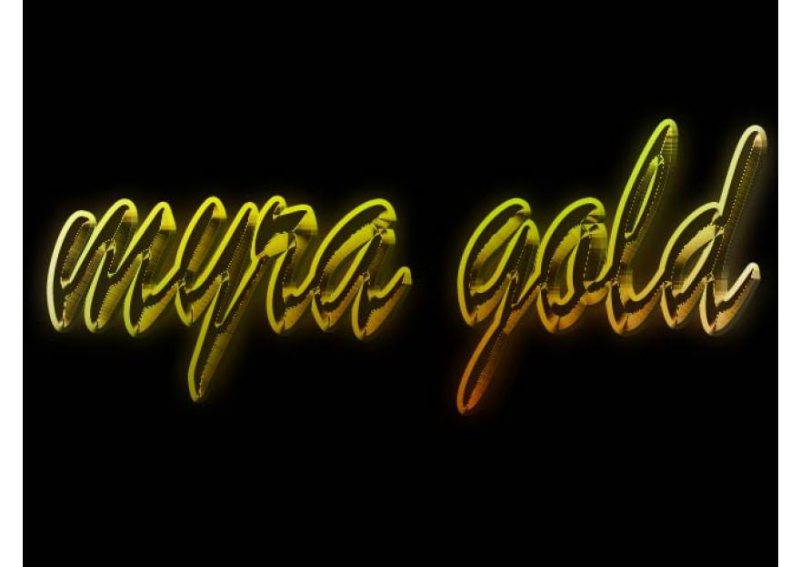 Myra Gold Kurumsal Kimlik Logosu yarışmasına tasarımcı ertan tarafından sunulan  tasarım