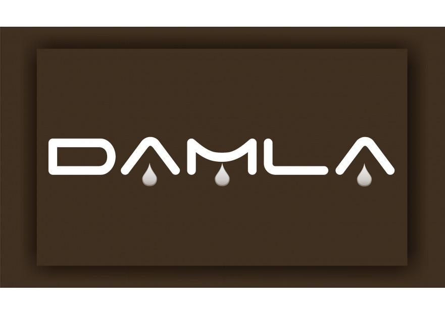 DAMLA Çikolata ve Şekerleme logo tasarım yarışmasına BAKU tarafından girilen tasarım