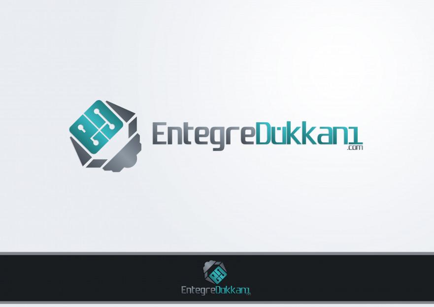 Entegre Dükkanı Logosunu Arıyor yarışmasına Hello tarafından girilen tasarım