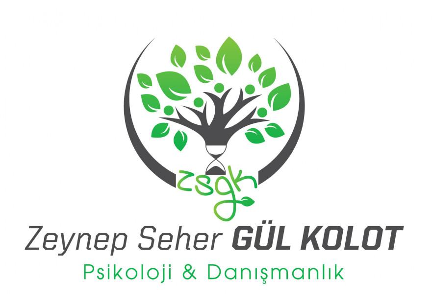 Psikoloji kliniği logo tasarımı yarışmasına tasarımcı Dilek1702 tarafından sunulan  tasarım