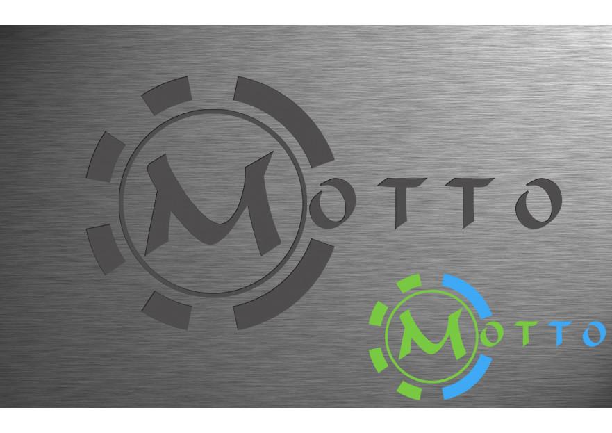 Yeni Markamız MOTTO için Logo Tasarımı yarışmasına tasarımcı cixmixfix tarafından sunulan  tasarım