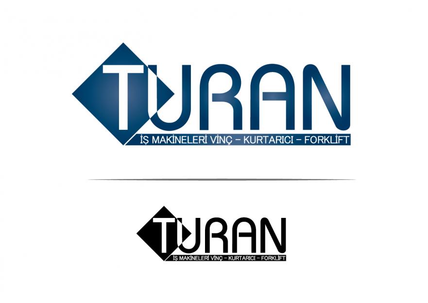 TURAN İŞ MAKİNELERİ LOGO TASARIMI yarışmasına tasarımcı Fuat_Ekemen tarafından sunulan  tasarım