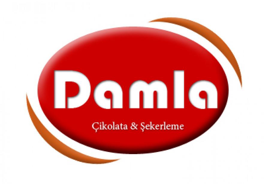 DAMLA Çikolata ve Şekerleme logo tasarım yarışmasına tasarımcı srcnbyrk tarafından sunulan  tasarım