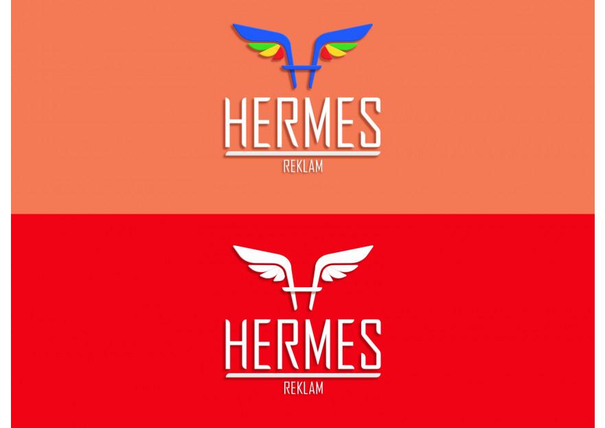 Hermes logo ve kurumsal kimlik yarışması yarışmasına Dyzyn tarafından girilen tasarım