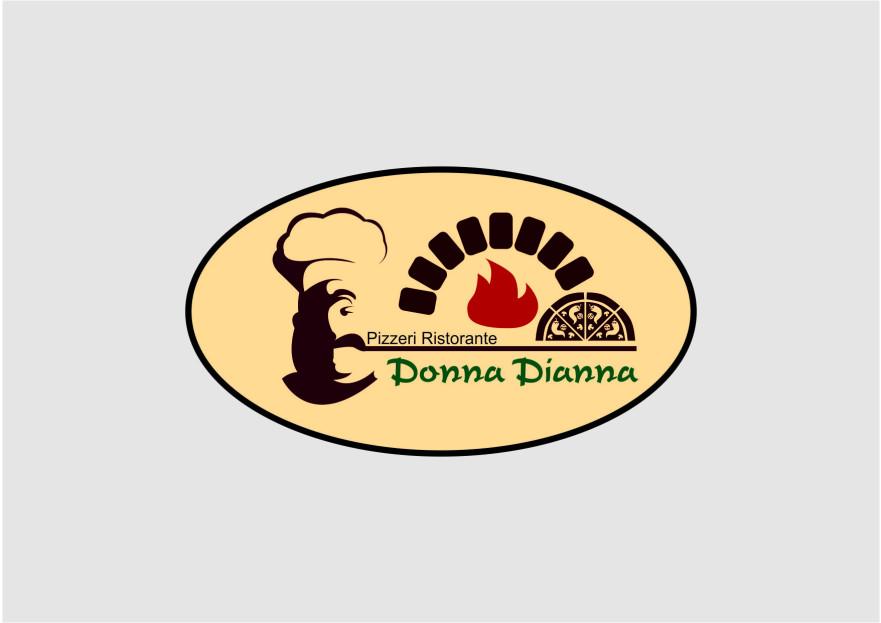 pizza restoranim icin logo tasarimi yarışmasına tasarımcı tasaronya © tarafından sunulan  tasarım