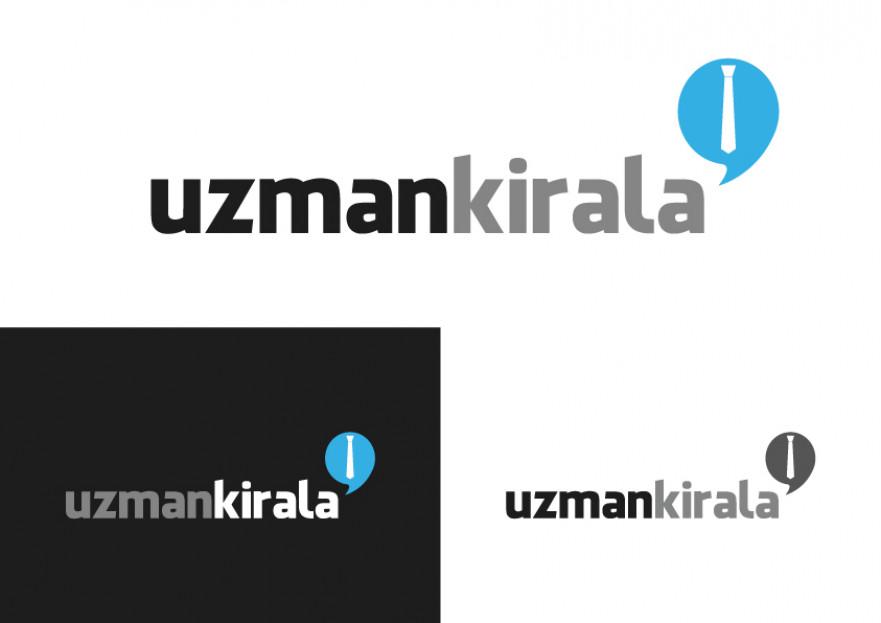 UzmanKirala.com Logo Revizyonu yarışmasına tasarımcı omerozcelik tarafından sunulan  tasarım