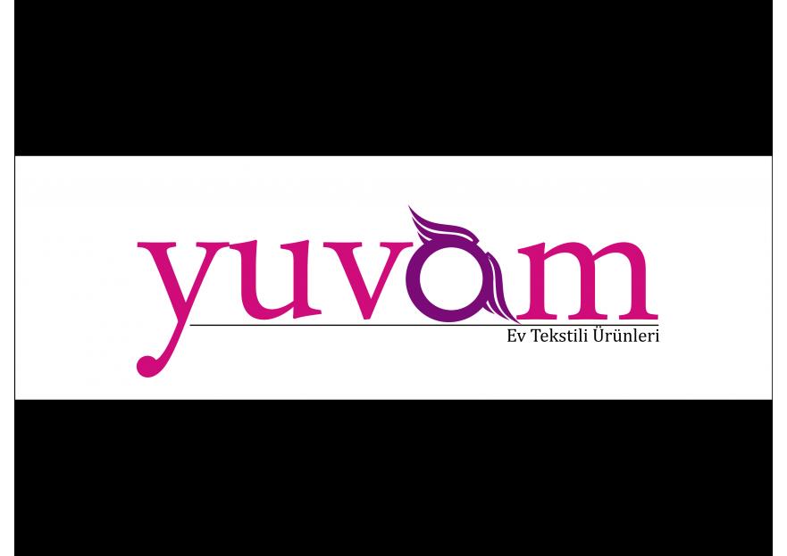 Ev Tekstili  Logo Tasarımı yarışmasına tasarımcı melih tarafından sunulan  tasarım