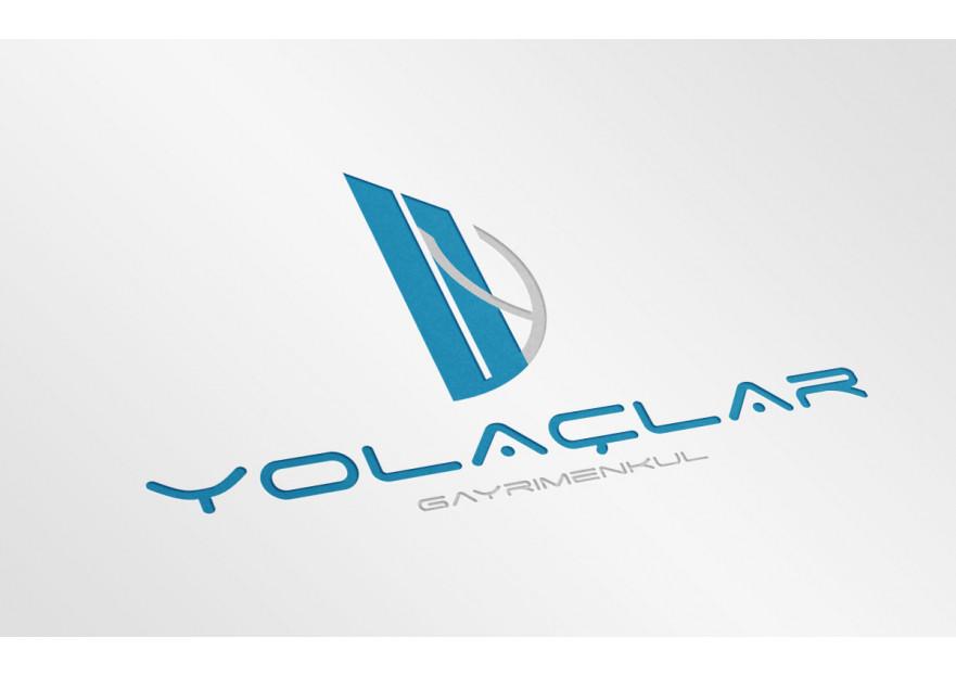 Gayrimenkul logo ve kartvizit tasarımı yarışmasına tasarımcı hakkylmaz tarafından sunulan  tasarım