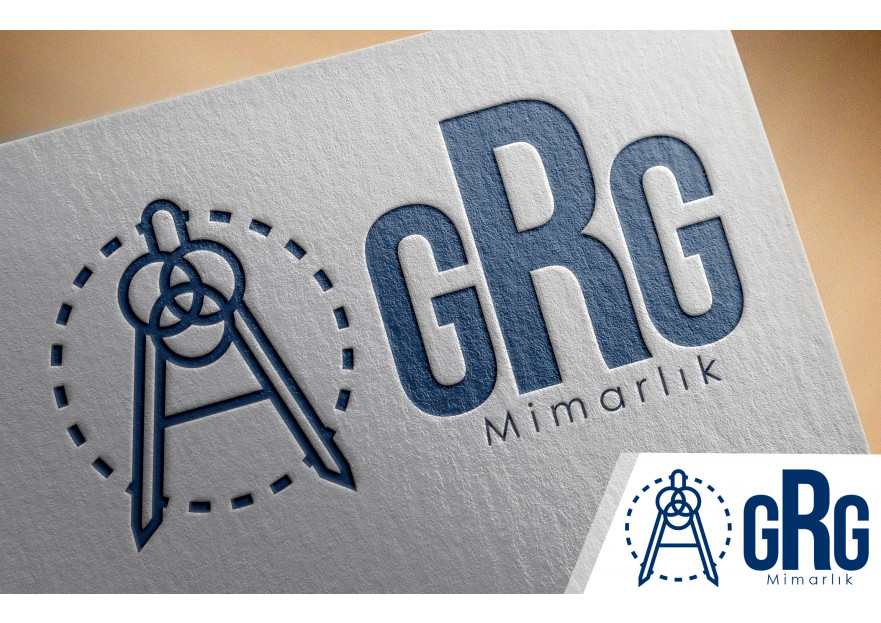 GRG Mimarlık logosunu arıyor yarışmasına tasarımcı enesguldali tarafından sunulan  tasarım
