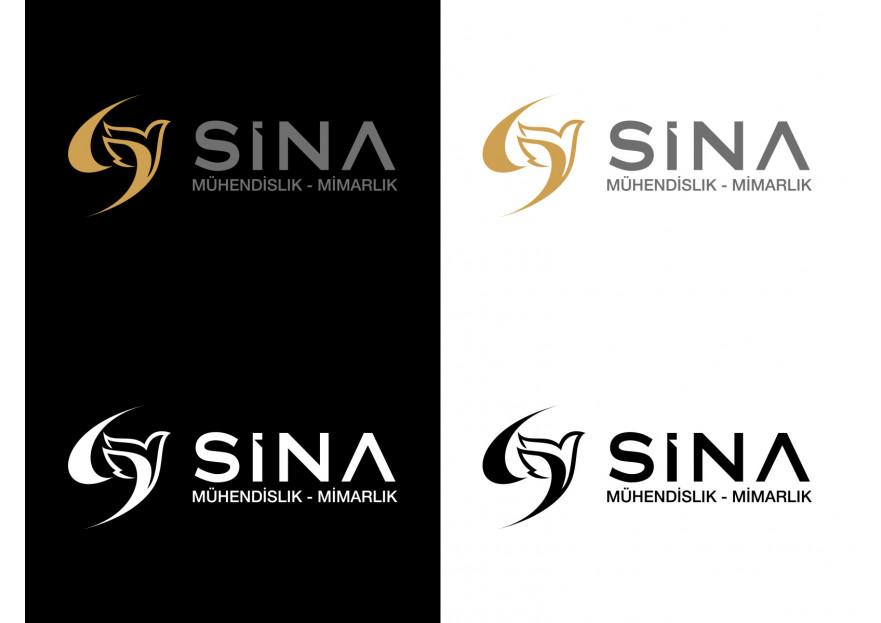 Sina Mimarlık Logosunu arıyor yarışmasına tasarımcı X59 tarafından sunulan  tasarım