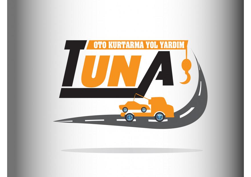 Tuna Oto Kurtarma Çekici Ve yol yardım yarışmasına muhammed aydın tarafından girilen tasarım