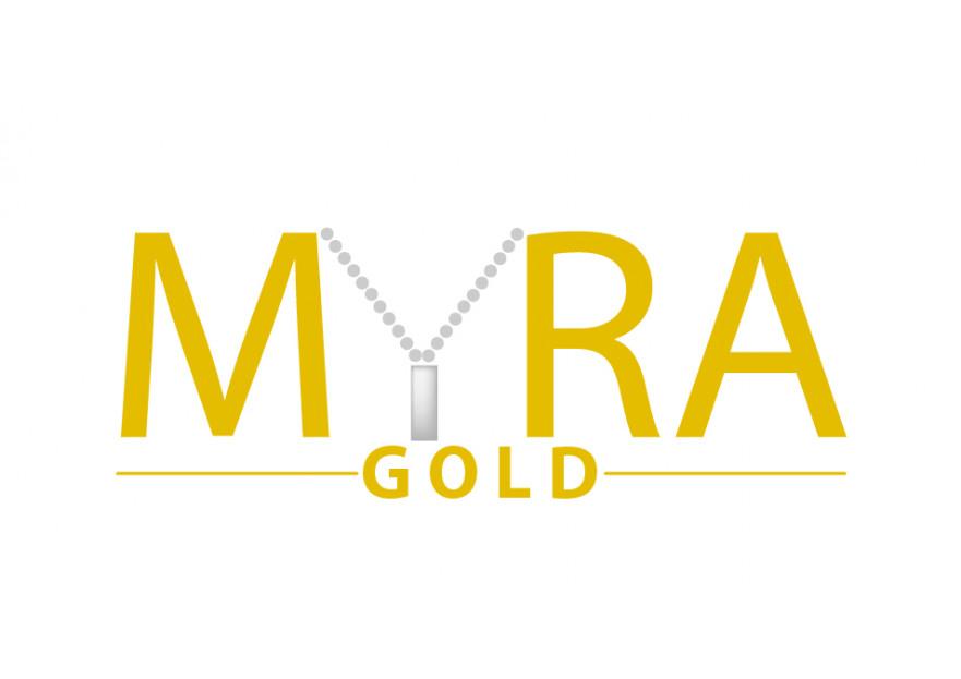 Myra Gold Kurumsal Kimlik Logosu yarışmasına tasarımcı ozgeozkan_1991 tarafından sunulan  tasarım