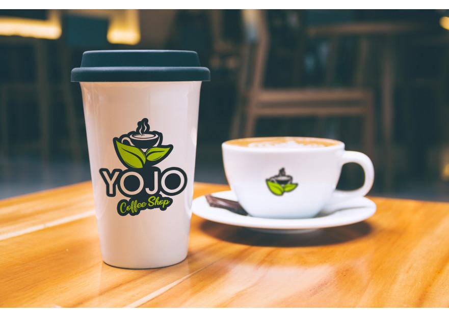 Kahveci Logosu yarışmasına tasarımcı XII tarafından sunulan  tasarım