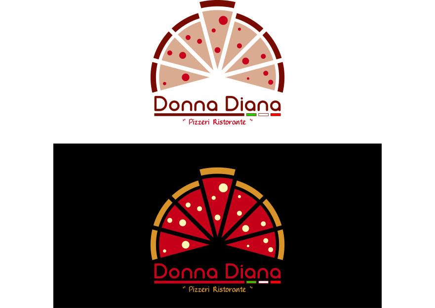 pizza restoranim icin logo tasarimi yarışmasına tasarımcı erdincokulmus tarafından sunulan  tasarım
