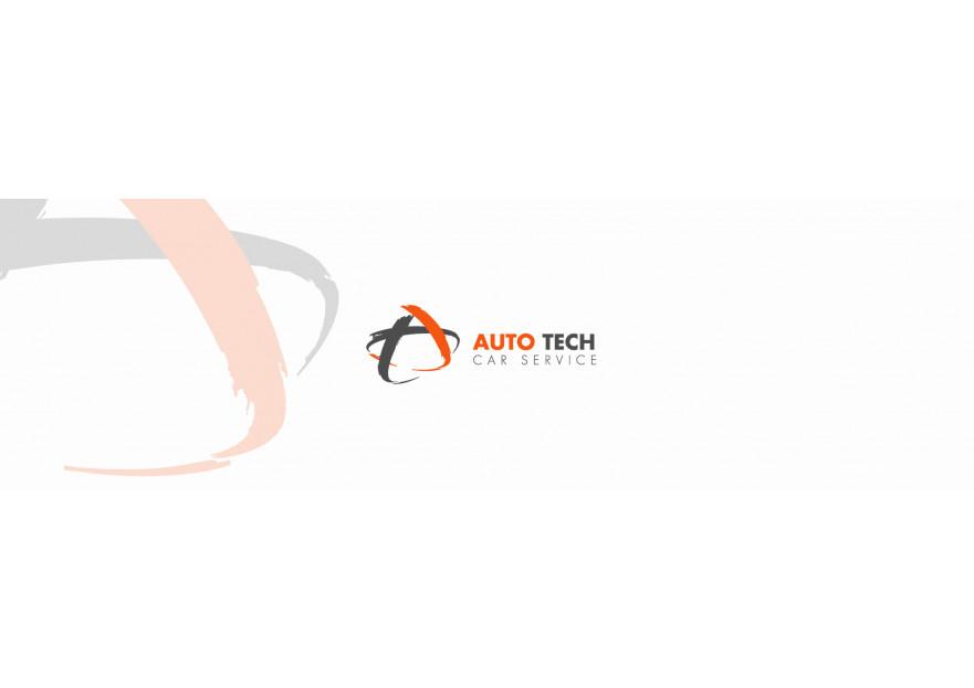 AUTOTECH CAR SERVICE Logo Tasarimi yarışmasına tasarımcı celender tarafından sunulan  tasarım