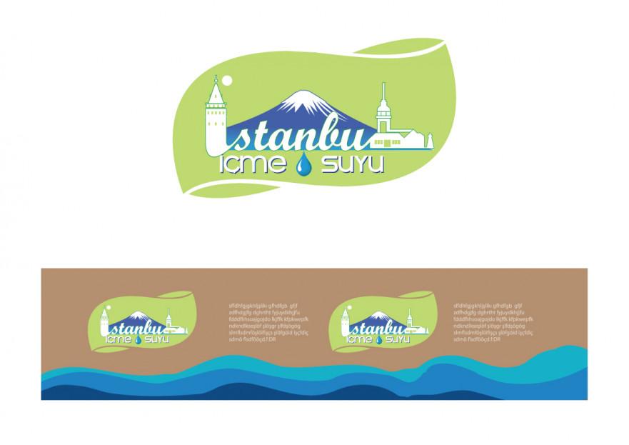 ''İstanbul İçme Suyu'' logosu yarışmasına tasarımcı ÖZD tarafından sunulan  tasarım