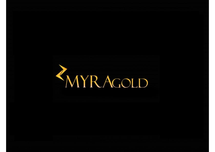 Myra Gold Kurumsal Kimlik Logosu yarışmasına tasarımcı TeZCaN tarafından sunulan  tasarım