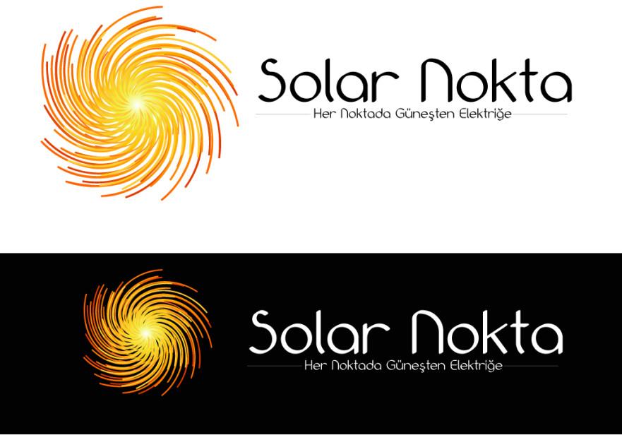solarnokta şirketi Logo Tasarım  yarışmasına tasarımcı Cahit_Nuri tarafından sunulan  tasarım