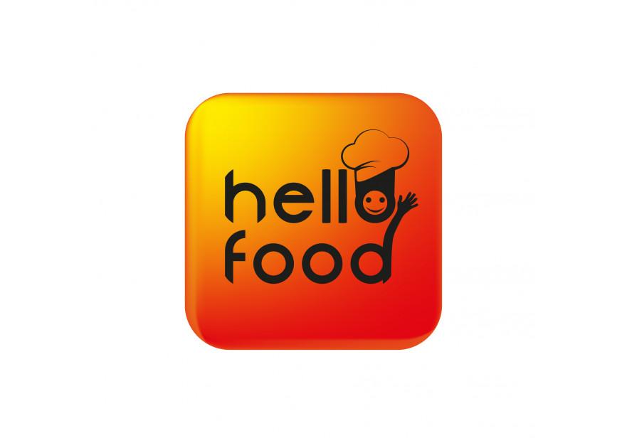 Hello Food uygulamasına logo yarışmasına tasarımcı thedesignerr tarafından sunulan  tasarım