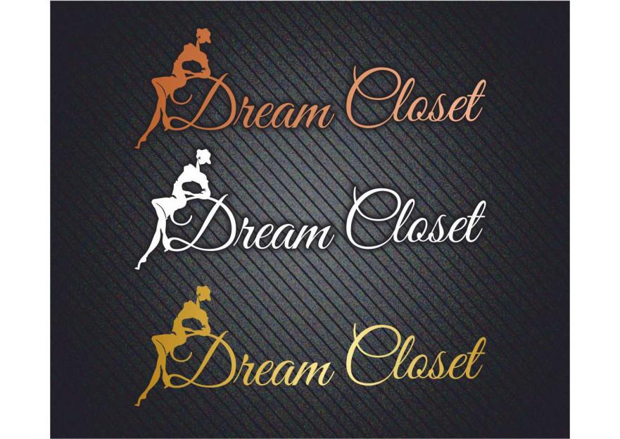 DreamCloset.net Logo yarışmasına tasarımcı ayferer tarafından sunulan  tasarım
