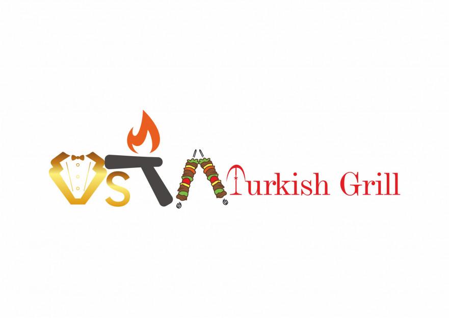 İngiltere'de Türk Restoranı -Tabela Logo yarışmasına aysedesign tarafından girilen tasarım